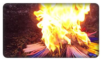 El Fuego Sagrado de la comunidad Maya